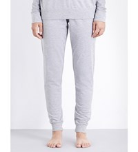 Tommy Hilfiger Iconic Slim Fit Jersey Jogging Bottoms Grey Heather