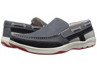 Rockport Cshore Bound Slip On 2 Dress Blues Men's Slip On Shoes Navy