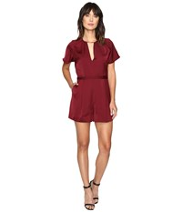 Style Stalker Kesen Romper Aubergine Women's Jumpsuit And Rompers One Piece Purple