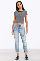 Blanknyc Galaxy Torn To Shreds Relaxed Jean Vintage Denim Light