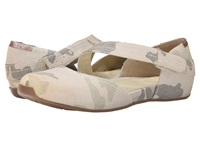 Otbt Pacific City Light Camo Women's Flat Shoes Multi