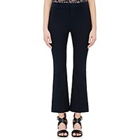 Derek Lam 10 Crosby Women's Crop Flared Pants Navy