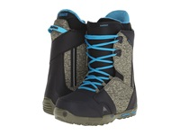 Burton Rampant Est '16 Black Camo Blue Men's Cold Weather Boots Olive