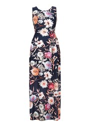 Wallis Floral Printed Maxi Dress Multi Coloured