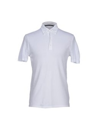 Zanone Polo Shirts Blue
