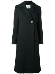 Dondup Double Breasted Coat Black