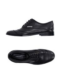 Alessandro Dell'acqua Footwear Lace Up Shoes Men Steel Grey