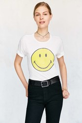Urban Outfitters Smile Tee Ivory