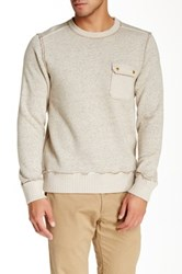 Jeremiah Crew Neck Sweatshirt Brown