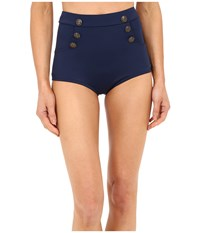 Unique Vintage Mrs. Cooper Sailor Bottoms Navy Women's Swimwear