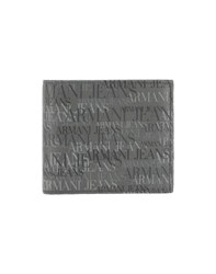 Armani Jeans Small Leather Goods Wallets Men Grey
