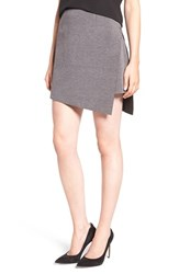 Trouve Women's Raw Edge Miniskirt