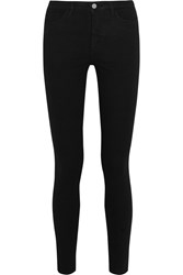 Victoria Beckham Powerhigh High Rise Skinny Jeans Black