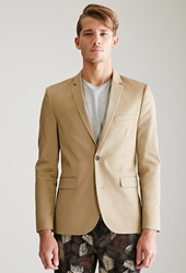 Forever 21 Two Button Chino Suit Jacket