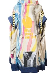 Bernhard Willhelm Printed Oversized Dress