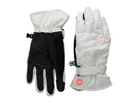 Roxy Mouna Solid Glove Bright White Extreme Cold Weather Gloves