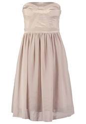 Selected Femme Sfautio Cocktail Dress Party Dress Ashes Of Roses Light Brown
