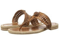 Frye Cleo Concho Thong Brown Smooth Vintage Leather Women's Sandals
