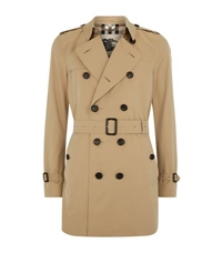 Burberry The Kensington Mid Length Heritage Trench Coat