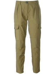 Burberry Brit Tapered Trousers Green