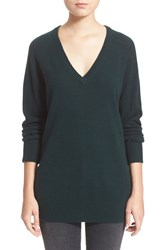 Women's Equipment 'Asher' V Neck Cashmere Sweater Scarab