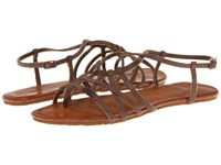 Volcom No Sweat Creedler Brown Women's Sandals
