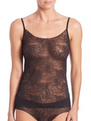 Commando Weightless Lace Camisole Black Pinot