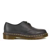 Dr. Martens Women's Core 1461 Virginia Leather 3 Eye Flat Shoes Black