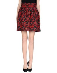 Department 5 Knee Length Skirts Red