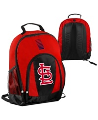 Forever Collectibles St. Louis Cardinals Prime Time Backpack Red