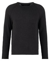 Marc O'polo Jumper Dark Grey Melange Anthracite