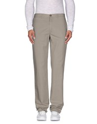 Henry Cotton's Trousers Casual Trousers Men Light Grey