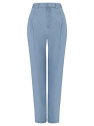 John Lewis Collection Weekend By Rosemary Soft Easy Chinos Pale Blue