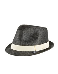 Block Straw Woven Hat Natural