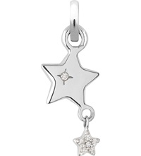 Links Of London Wish Upon A Star 18 Carat White Gold Charm