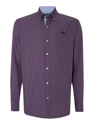 State Of Art Shirt Poplin Blue