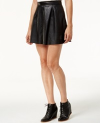 Lucky Brand Leather Mini Skirt Lucky Black