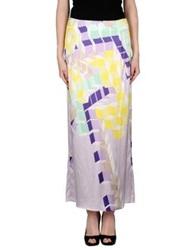 1 One Long Skirts Lilac