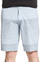 Men's Ezekiel 'Swift' Ombre Shorts Blue