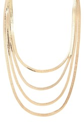 Forever 21 Snake Chain Layer Necklace
