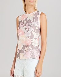 Ted Baker Filaki Floral Sleeveless Top