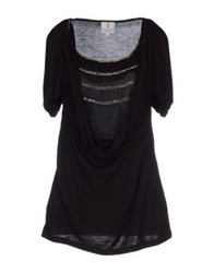 Only 4 Stylish Girls By Patrizia Pepe Tank Tops Black