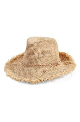 Women's Flora Bella Crochet Raffia Hat