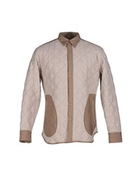 Umit Benan Coats And Jackets Jackets Men Beige