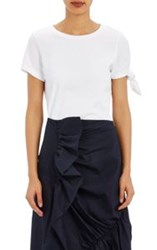 J.W.Anderson Jw Anderson Single Knot T Shirt White