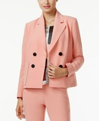 Alfani Double Breasted Blazer Only At Macy's Lobster Bisque