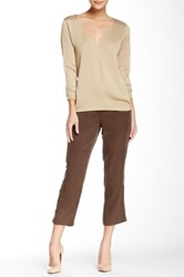 Vince Camuto Slim Cargo Pant Brown