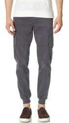 Vince Twill Cargo Joggers Pavement Grey