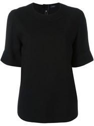 Joseph Half Sleeve T Shirt Black