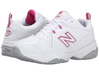 New Balance Wx608v4 White Pink Women's Walking Shoes